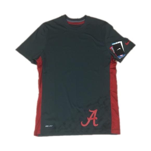 31581ae80849 Alabama Crimson Tide Nike Mens Dri Fit Shirt Small